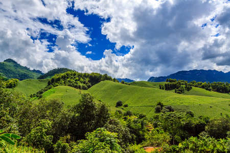 Highland at Hoa binh province, north Vietnam photo