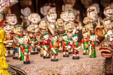 Vietnamese Water Puppets at Hanoi, Vietnam photo