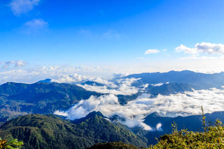 Fansipan mountain, Vietnam photo