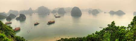 Halong Bay Vietnam Panorama Stock Photo - 6626093