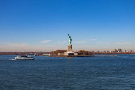 The statue of Liberty, New York City, USA
