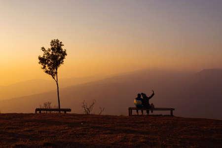 Romance at Sunset, Chiang Mai, Thailand