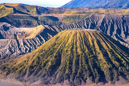 Mount Bromo volcano, in East Java, Indonesia.