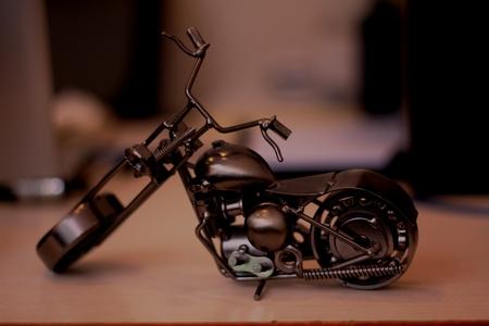 Iron Motorcycle Stok Fotoğraf