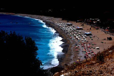 Deniz ve kum Stok Fotoğraf