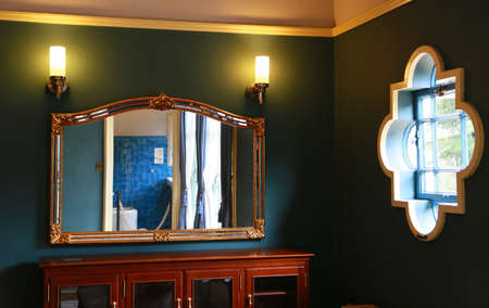 room: Mirror room
