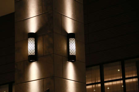 lighting: Column lighting