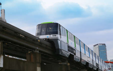 Japan Tokyo for the airport monorail