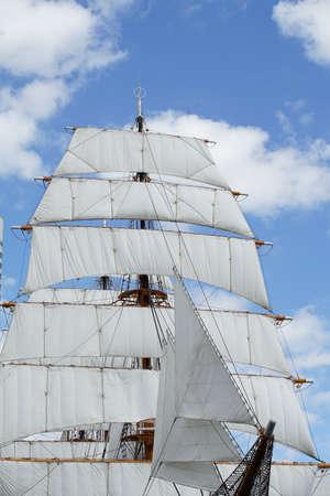 Nippon Maru a sailing ship for Japanese training ships