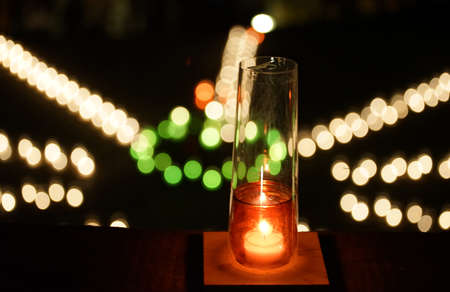the Candle 写真素材