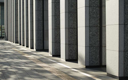 Pillars of high-rise buildings 写真素材
