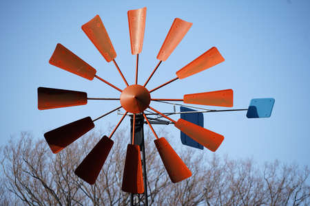 Red Feather Windmill