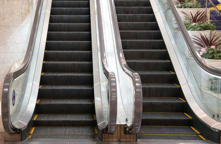 The up and down escalator