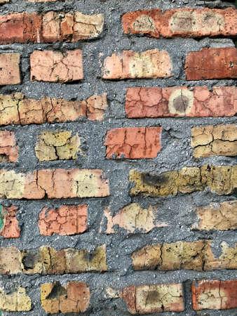 old brick wall masonry Banco de Imagens