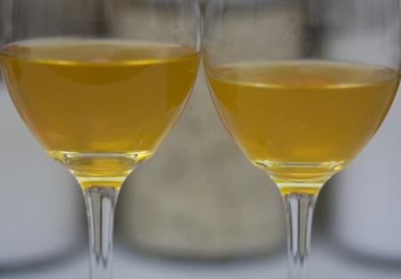 2 glasses of ale photo