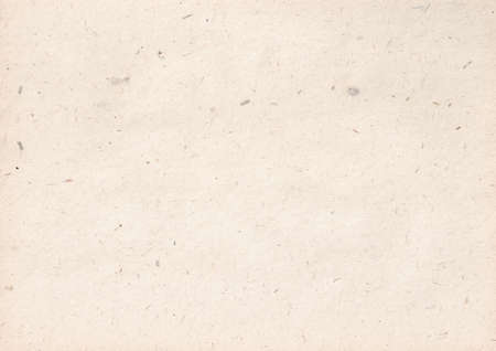 texture of light kraft paper sheet with soft dark brown grain shavings Foto de archivo
