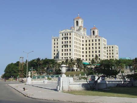 National Hotel of Cuba, near the Malecon, in Havana photo