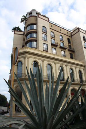 Hotel in front of the Central Park, Havana, Cuba photo