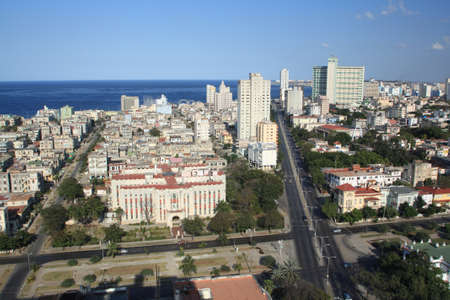 Havana view from a roof of tall building (III) photo