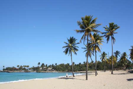 Seashore in Bacuranao beach, in Havana, Cuba - II photo
