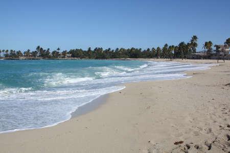 Seashore in Bacuranao beach, in Havana, Cuba - III photo