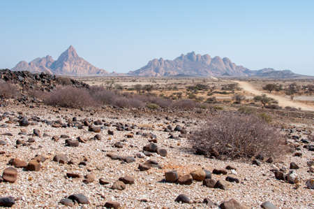 The Spitzkoppe from afar