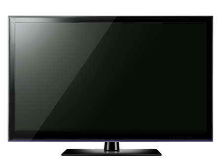 Widescreen LCD TV  photo
