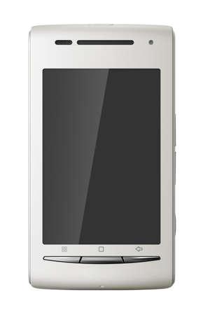 White touch screen Stock Photo - 8912020