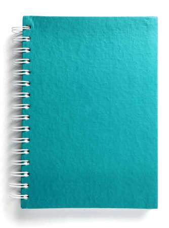 Blau notebook Lizenzfreie Bilder