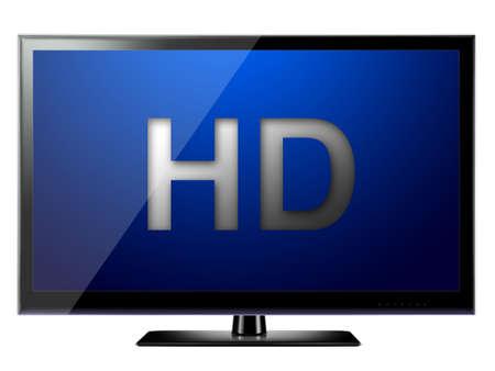 Moderne HD-TV Lizenzfreie Bilder