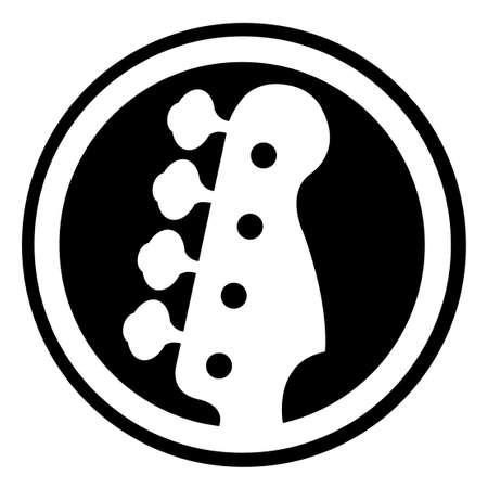 Bass icon Stock Photo - 9109183