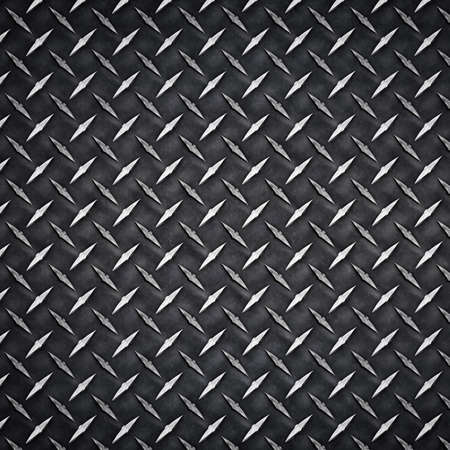 metal sheet: Diamond metal texture