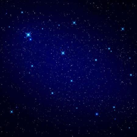 Sterne am Nachthimmel  Lizenzfreie Bilder