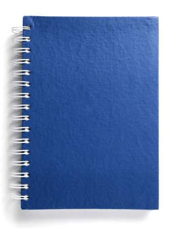 Blue notebook  Banque d'images