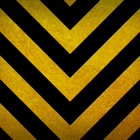 Black and yellow warning background