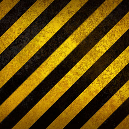 hazard stripes: Warning background Stock Photo