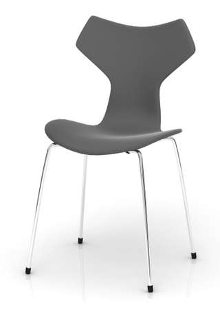 Grey modern chair