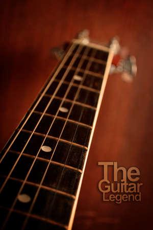 La légende de guitare
