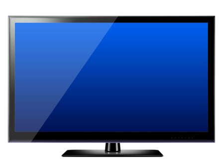 Modern LCD TV photo