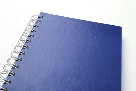 Blue notebook Stock Photo - 9908499