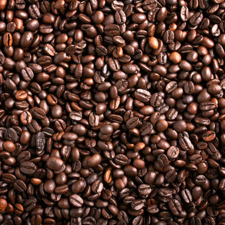 Coffee beans background Stock Photo - 10996207