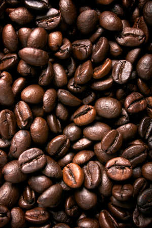 Coffee beans background Stock Photo - 10996210