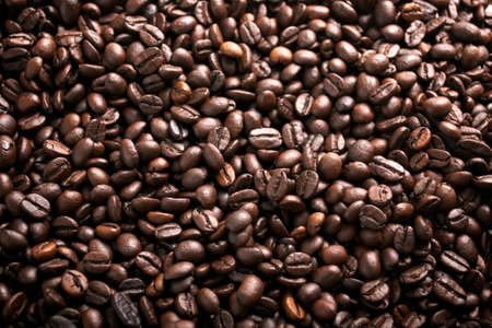 Coffee beans background Stock Photo - 11075671