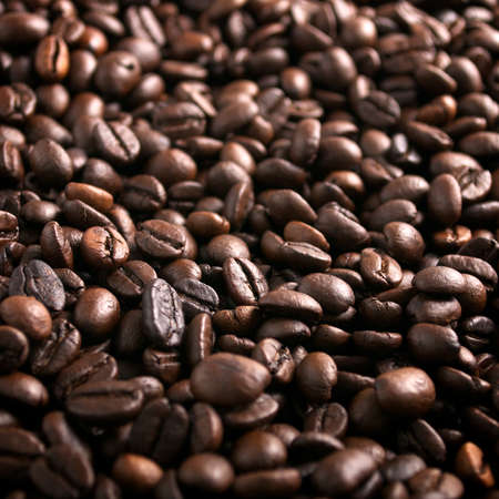 Coffee beans background Stock Photo - 11140360