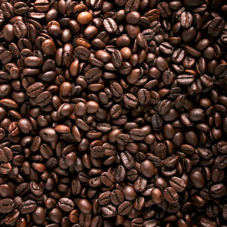Roasted coffee beans background Stock Photo - 11516910