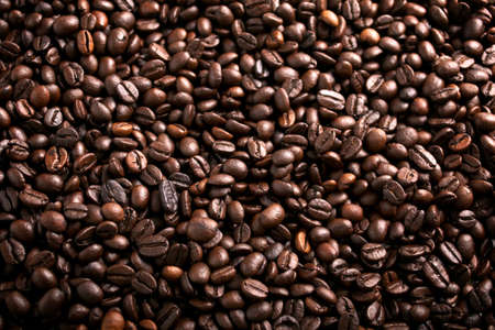 Coffee beans background Stock Photo - 11763996