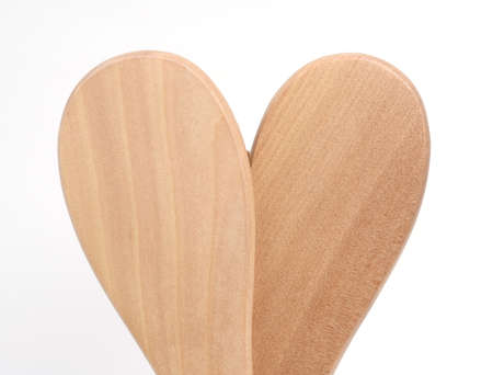 back Combs shape heart  Stock Photo - 12077042