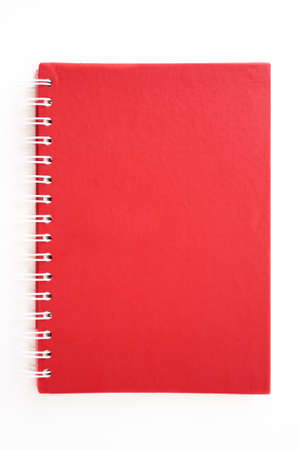 Red Blank Diary