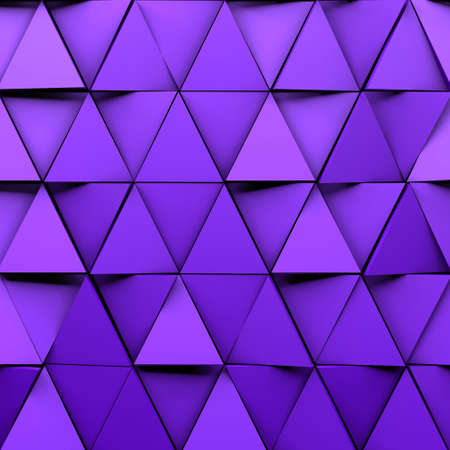 CGI 3d triangular wallpaper background