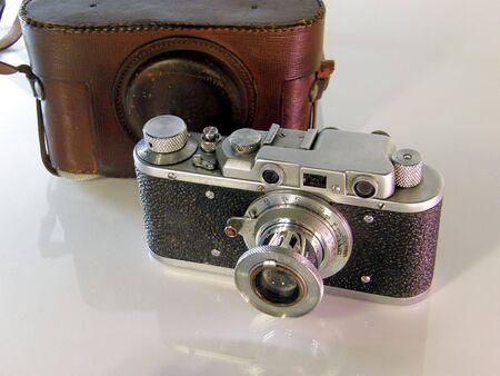 Old photo camera Stock Photo - 4417785